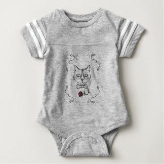 Body Para Bebê Gato sofisticado