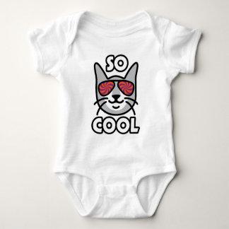 Body Para Bebê Gato TÃO LEGAL