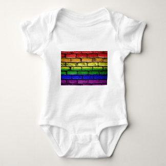 Body Para Bebê Gay LGBT da bandeira da bandeira