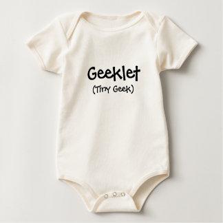 Body Para Bebê Geeklet, (geek minúsculo)