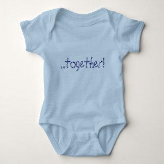 Body Para Bebê gêmeo do menino/menina