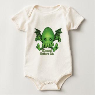 Body Para Bebê Genuflexão bonito de Cthulhu Chibi antes de mim