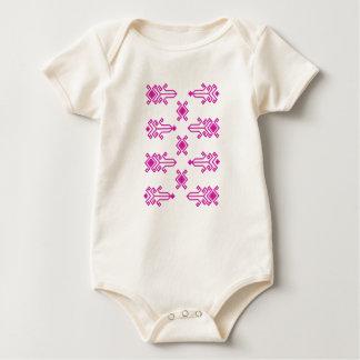 Body Para Bebê Geometria sardos - algodão orgânico