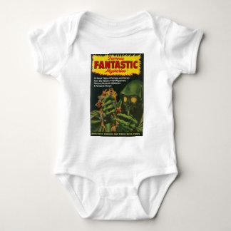 Body Para Bebê Ghoul verde gigante