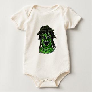 Body Para Bebê Girado para a pedra