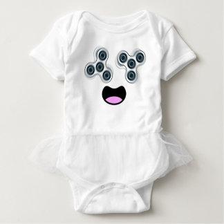 Body Para Bebê Girador feliz da inquietação