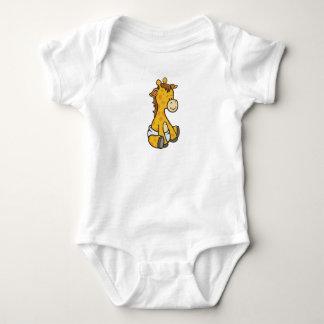 Body Para Bebê Girafa customizável do bebê