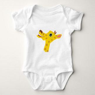 Body Para Bebê Girafa feliz