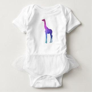 Body Para Bebê Girafa geométrico com ideia vibrante do presente