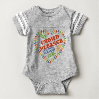 Body Para Bebê Gire acima do encanto: Aglomere Pleasers Onsies