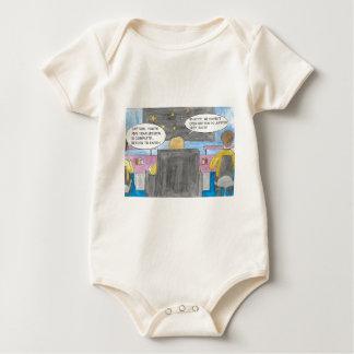 Body Para Bebê Gire ao redor a missão