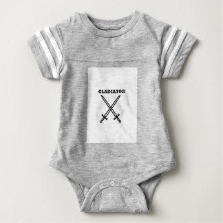 Body Para Bebê Gladiador