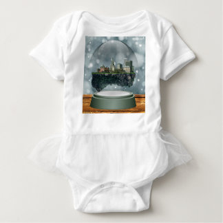 Body Para Bebê Globo da neve da ilha do providência