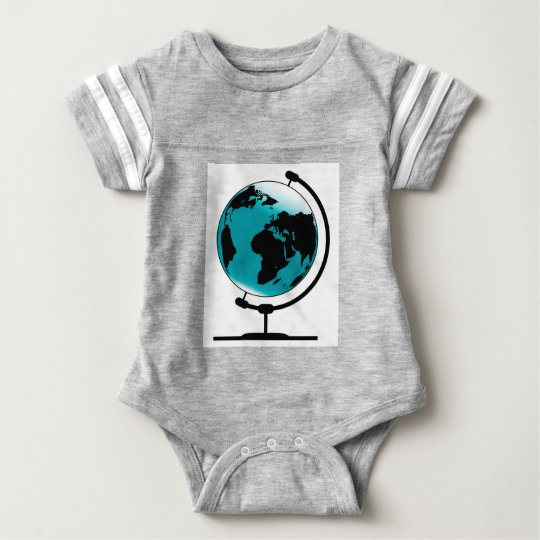Body Para Bebê Globo montado no giro de giro