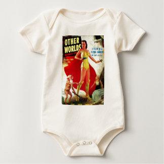Body Para Bebê Gnomos do jardim na praia