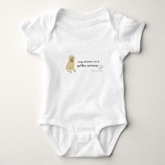 Body Para Bebê golden retriever