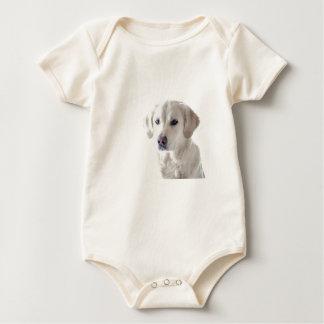 Body Para Bebê Golden retriever claro