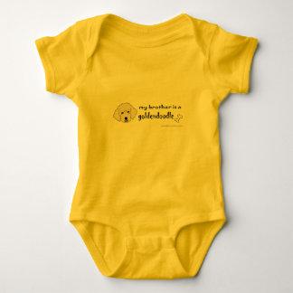Body Para Bebê goldendoodle