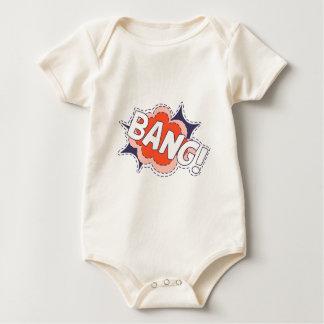 Body Para Bebê Golpe brilhante