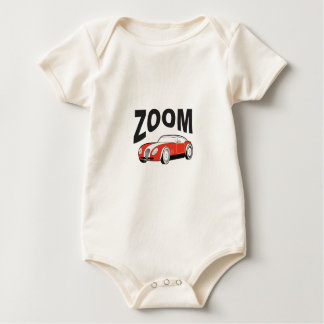 Body Para Bebê golpe do vermelho do zumbido