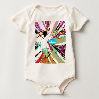Body Para Bebê Golpe grande colorido
