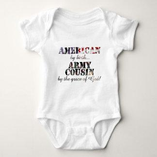 Body Para Bebê Graça de deus do primo do exército