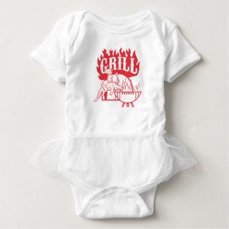 Body Para Bebê Grade do jacaré do carregar do cozinheiro chefe do
