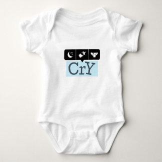 Body Para Bebê Gráficos do divertimento para segurar o grito do