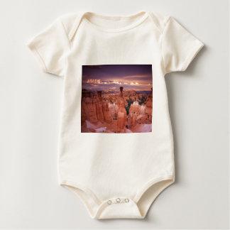 Body Para Bebê Grand Canyon durante a hora dourada