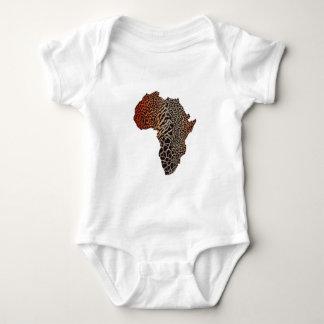 Body Para Bebê Grande África