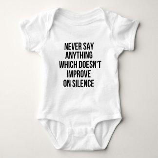 Body Para Bebê Grande frase simples legal de tao da filosofia da