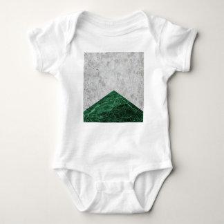 Body Para Bebê Granito concreto #412 do verde da seta