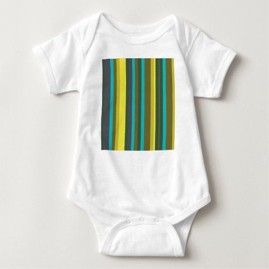 Body Para Bebê Green_stripes