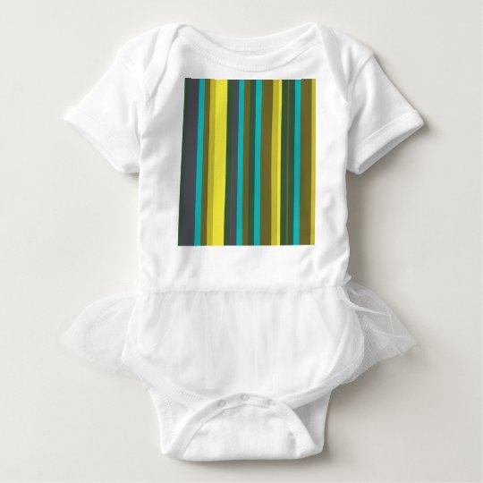 Body Para Bebê Green_stripes