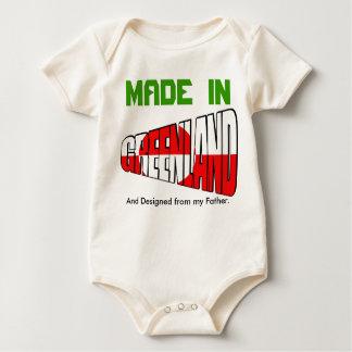 Body Para Bebê Greenland FEZ EM e projetou de meu pai
