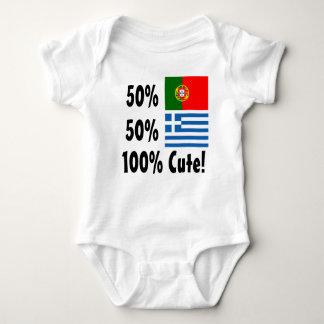 Body Para Bebê Grego 100% do português 50% de 50% bonito
