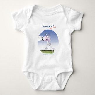 Body Para Bebê Grelha - toque para baixo, fernandes tony
