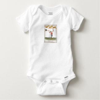 Body Para Bebê grevista espanhol do futebol