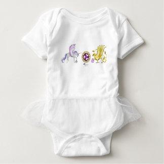 Body Para Bebê griffon do unicórnio da essência da espiral do