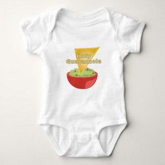 Body Para Bebê Guacamole santamente