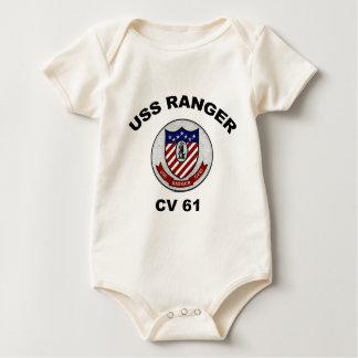 Body Para Bebê Guarda florestal do CV 61
