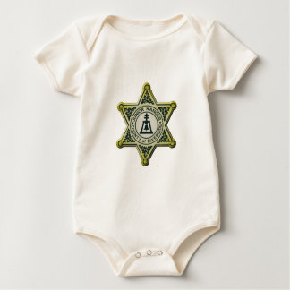 Body Para Bebê Guarda florestal do júnior do beira-rio