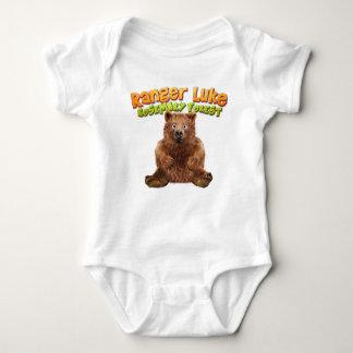 Body Para Bebê Guarda florestal Luke: Floresta de Rosemary -