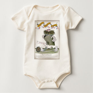 Body Para Bebê guarda-redes de Inglaterra
