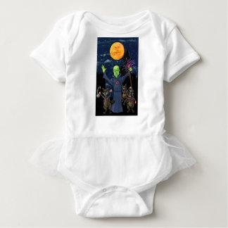 Body Para Bebê Guaxinins do feiticeiro e do mau