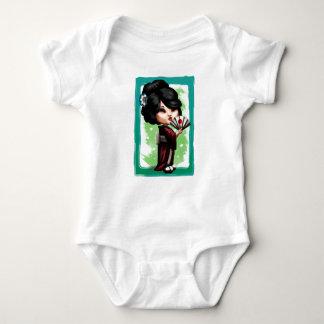 Body Para Bebê Gueixa de Kawaii