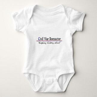 Body Para Bebê Guerra civil Reenactor