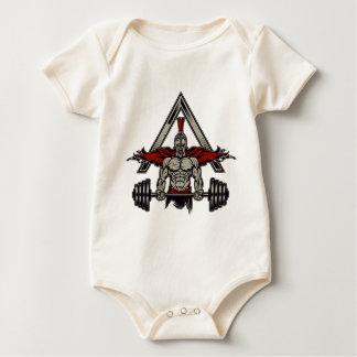 Body Para Bebê Guerreiro espartano