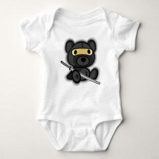 Body Para Bebê Guerreiro japonês bravo do samurai para o bebê