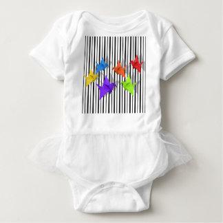 Body Para Bebê Guindastes de papel